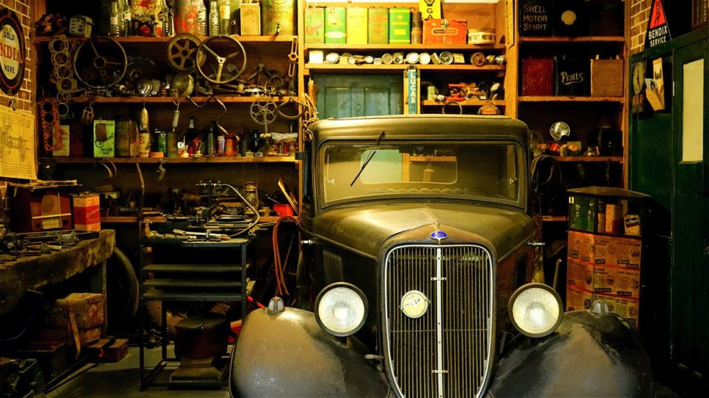 organising your garage
